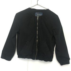 3/$30 Bershka Black 3/4 sleeves Bomber Jacket S